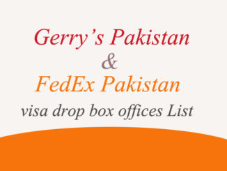 Gerry's Fedex Pakistan