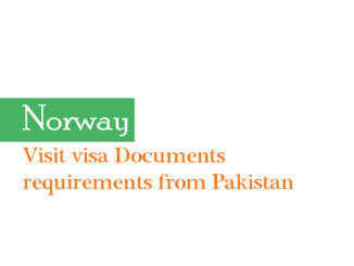 Norway documents for visa