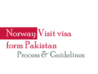 Norway visit visa form Pakistan
