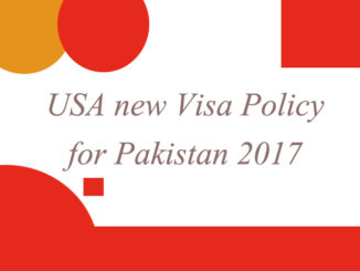 USA visa policy 2017