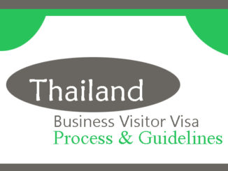Thailand Business visa