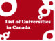 List of Universities in Canada