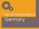 List of Universities in Germany