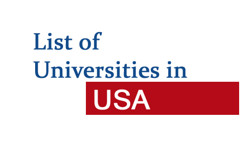 universities in USA by state
