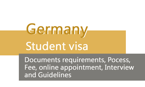 Germany Student visa from Pakistan Documents requirements